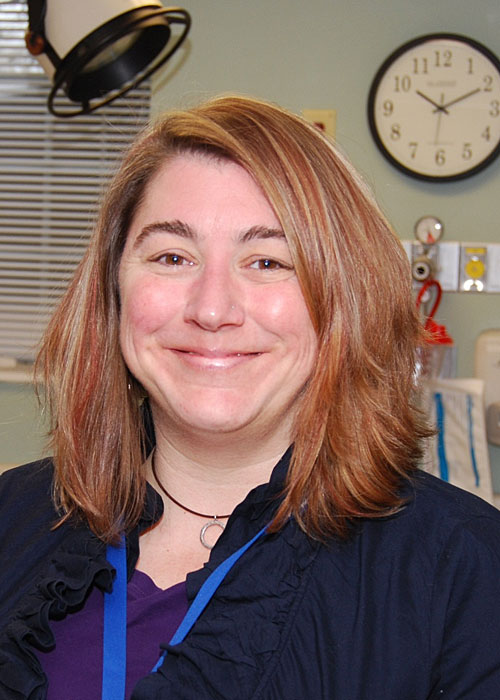 Christina Costello, RN, BS, CEN, Director of Emergency Services